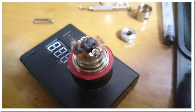 DSC 0663 thumb255B4255D 2 - Subtank MiniのRBAユニットのガンク除去&3000mAHバッテリー着弾