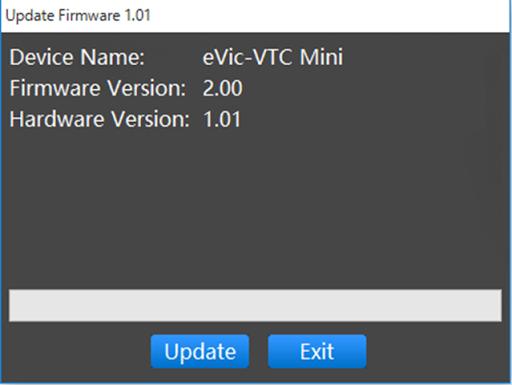 VTC Mini Firmware