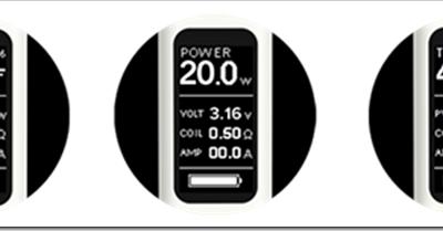 eVic VTC 01 thumb255B2255D 2 400x209 - eVIC VTC Miniのファームウェアが僕に内緒で2.0から3.0になっていた
