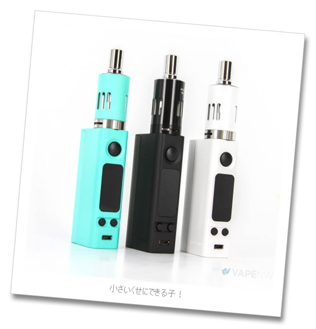evic vtc mini all14 2 - Joyetech eVIC-VTC MINI 75W(eVic VTC Mini with TRON)版のレビュー「小さくてもできる子」