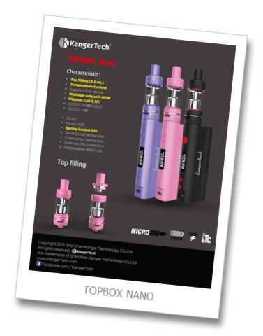 topbox nano25255B2025255D - 期待の新製品:Kangertech TOPBOX NANO 60W TC KIT