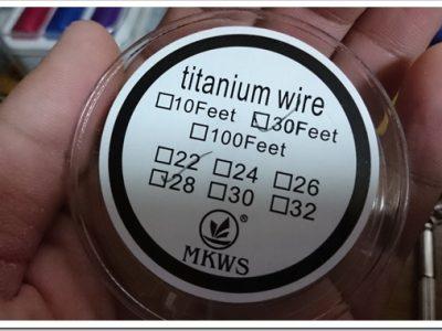 DSC 0827 thumb255B2255D 2 400x300 - 偽TOPTANK(トップフィル)とチタンコイル(VTC Mini)で温度管理を楽しむ