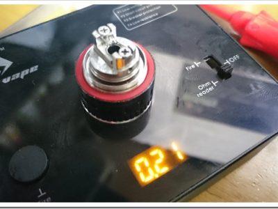 DSC 0876 thumb255B4255D 2 400x300 - 今日のビルド:チタン28Gのビルド練習中。温度管理難しい、、、