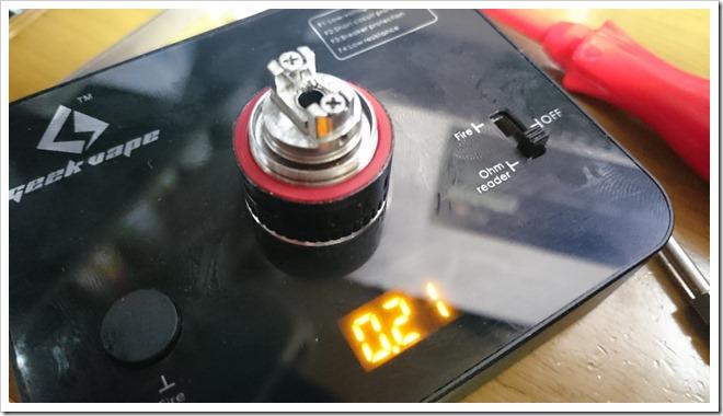 DSC 0876 thumb255B4255D 2 - 今日のビルド:チタン28Gのビルド練習中。温度管理難しい、、、