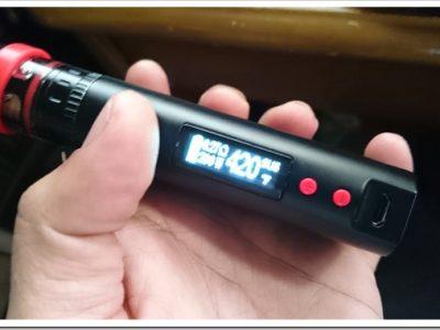 DSC 0955 thumb255B2255D 2 400x300 - 【注意喚起】KBOX 200W TC MODのパフスイッチが押しっぱなしになる事例発生