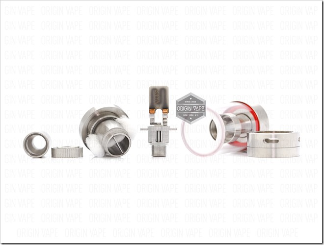 Origin Vape Altus Worlds First Coilless Atomizer Tank by Guo 06 thumb255B2255D 2 - 期待の新製品:とうとう出た!?世界初!コイルレスのサブオームタンクAltusが登場
