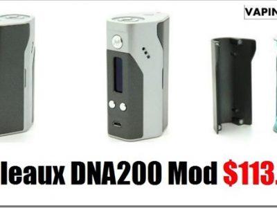 Reuleaux Box Mod2 1 thumb255B2255D 2 400x300 - RX200にDNA200チップを搭載したバージョン「Reuleaux DNA200 Box Mod」が発売中
