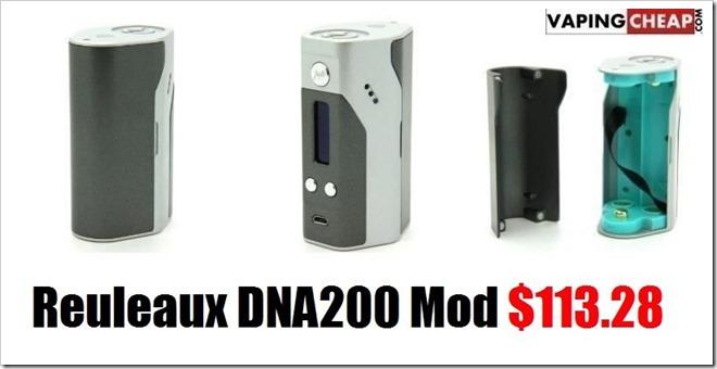 Reuleaux Box Mod2 1 thumb255B2255D 2 - RX200にDNA200チップを搭載したバージョン「Reuleaux DNA200 Box Mod」が発売中