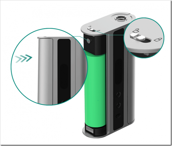 eleaf istick tc 100w express kit 077255B5255D 2 - 【動画】Vape最新動画「The Scottish Roll Wicking」「Joyetech CUBIS RBAコイルリビルド方法」、「Eleaf iStick 100W TCレビュー」など