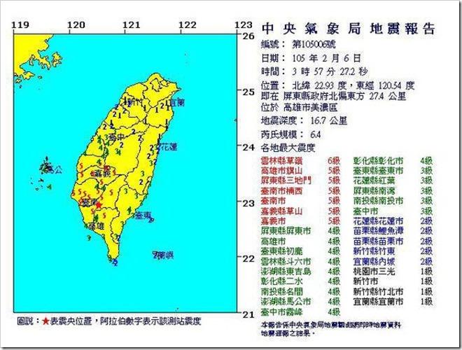 Cae0F XUUAAdGNX thumb255B3255D 2 - 【ニュース】台湾で震度6強の大地震発生。友人国の安否がしのばれる。我々にできること