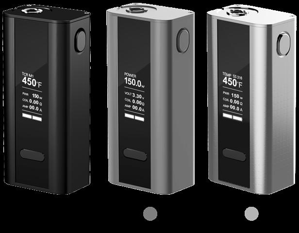 Cuboid 01 thumb255B2255D 2 - 【MOD】手ごろサイズな細身2本バッテリーTC機、「Joyetech Cuboid 150WテクニカルMOD」レビュー!ファームウェアアップデートで200Wにも