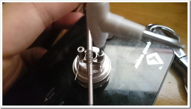 DSC 1305 thumb255B2255D 2 - 【ビルド】Wotofo Serpent RTAがアトマイザーショートしたのでコイル巻きなおした話