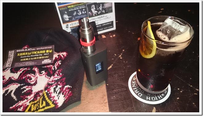 DSC 1373 thumb255B2255D 2 - 【VAPE】たまに行くならこんなジャズバーでVAPE電子タバコと音楽とお酒をたしなむ