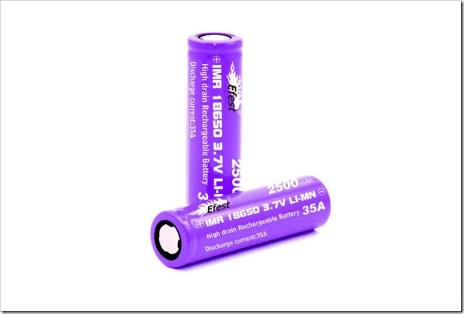IMR 18650 thumb255B2255D 2 - 【注意喚起】あなたの電子タバコVAPEが発火!しないためにも注意するバッテリーの使い方を動画から学ぼう