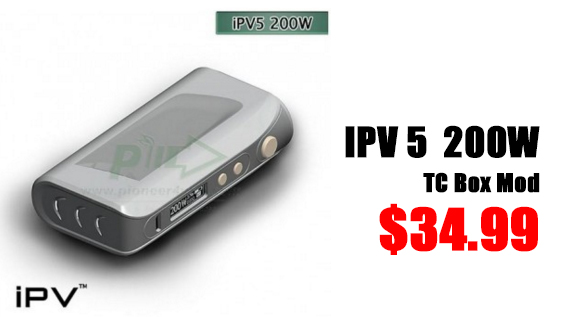 ef 2 - 【MOD】Pioneer4uのiPV5 200W BOX MODがEfunで80ドル⇒34.99ドルの驚異的な安さで販売中