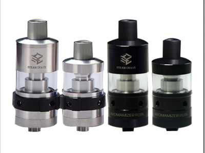 steam crave aromamizer rdta limited version black 4ef255B5255D 2 400x300 - 【RTA】トップキャップ変更で3ML/6MLに可変するSteam Crave Aromamizer RDTA Limited Version-Black