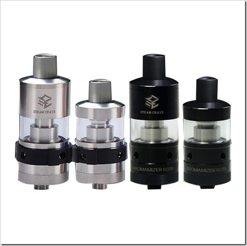 steam crave aromamizer rdta limited version black 4ef255B5255D 2 - 【RTA】トップキャップ変更で3ML/6MLに可変するSteam Crave Aromamizer RDTA Limited Version-Black