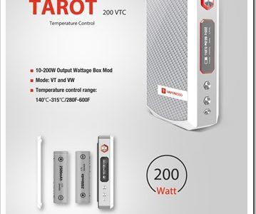 tarot vapor thumb255B2255D 2 359x300 - 【MOD】ちょい高級VAPE!VAPORESSOの200W VW/TC MOD「TAROT 200 VTC」近日登場!最高3Ωまで対応