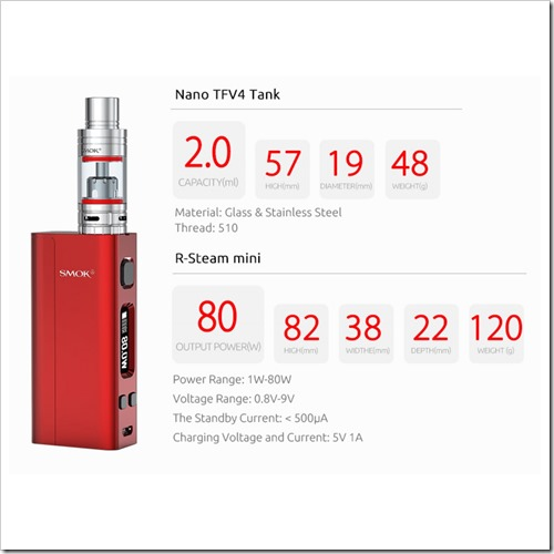 2016 02 25 15 15 046893255B5255D 2 - 【MOD】Smok Nano One 80W TC Starter Kit with R-Steam Mini ModがEverzonにも