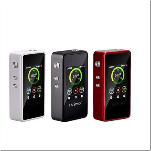 laisimo l1 200w tc mod b91255B5255D 2 - 【MOD】Bluetooth接続できるカラー液晶Mod Laisimo L1 200W TCがEverzonに