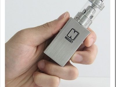 nugget3255B6255D 2 400x300 - 【MOD】Mini Volt超えか!?超小型のMOD Antery Nugget 50W TC MOD登場の巻