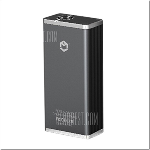 20160418145944 52108255B5255D 2 - 【MOD】渋目のメタルボディ!Modvapa BOX-ETC 70W TC Box Mod