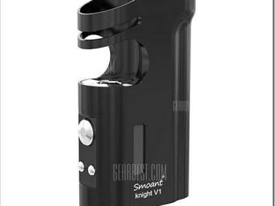 20160420170259 60127255B5255D 2 400x300 - 【MOD】23mmまでのアトマ埋込み小型Mod「Smoant Knight V1 60W TC Mod」でスマートなVAPEライフ【iStick Picoクラス】