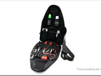 4670600 2255B5255D 2 400x300 - 【小物】ボディバッグ形状のビルド用品バッグ!Iwodevape Shoulder Carrying Case for E-Cigarettes【注文を迷っている】