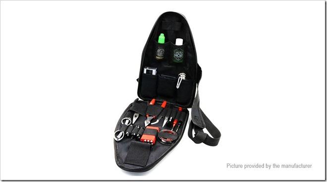 4670600 2255B5255D 2 - 【小物】ボディバッグ形状のビルド用品バッグ!Iwodevape Shoulder Carrying Case for E-Cigarettes【注文を迷っている】