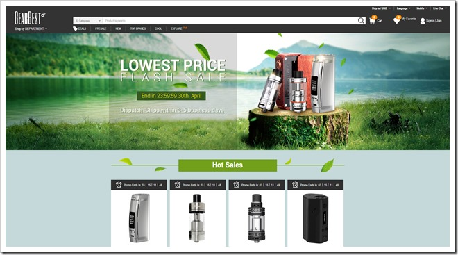 FireShot2520Capture2520102520 2520E2520Cigs255B5255D 2 - 【セール】GearBestでフラッシュセール中、Joyetech eGo AIO 15.52ドル、Avocado RTA 20.12ドル、VTC Mini 31.55ドルなど