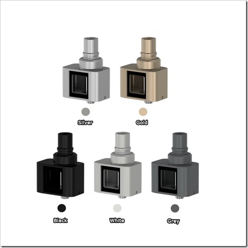 cuboid mini atomizer 6255B5255D 2 - 【MOD】Cuboid Miniアトマイザー単体&Cuboid Mini単体販売