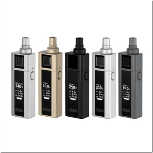 joyetech cuboid mini 2400mah kit c9d255B6255D 2 - 【MOD】EverzonにCuboid Miniキット4516円~、Cuboid Miniバッテリー本体 3104円~