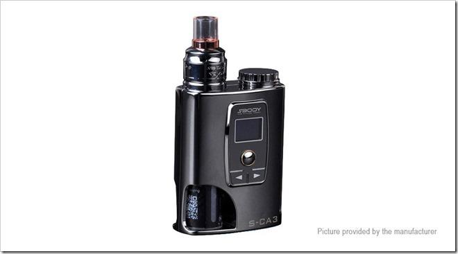 4793001 1255B5255D 2 - 【BFMOD】BF対応の小型MOD、SBody S-CA3 50W VW APV Box Mod Kit【ラジオっぽい】