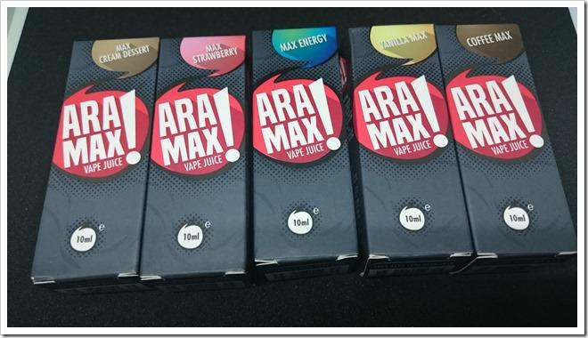 DSC 1938 thumb255B2255D 2 - 【リキッド】HC製の新リキッドライン「ARA!MAXシリーズ」MAX Cream Dessert、Vanilla Max、Coffee Max、Max Strawberry、Max Energyレビュー!