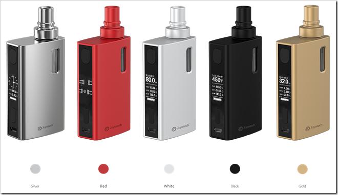 eGrip II Kit 01255B7255D 2 - 【期待の新製品】オールインワングリップ方式のJoyetech eGrip II スターターキット 【時計とゲーム機能つき!】