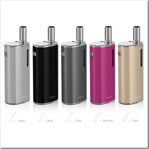 eleaf istick inano kit 02255B5255D 2 - 【小型MOD】バッテリー内蔵ナノサイズ!Eleaf IStick INano Kit - 650mAh
