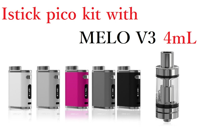 imgrc0068018090 2 - 【istick Pico kit MELOV3]】Istick PICO KIT with melo3 75w 温度管理機能付き 超コンパクトスターターキット 国内でも低価格販売!【MOD,E-leaf】