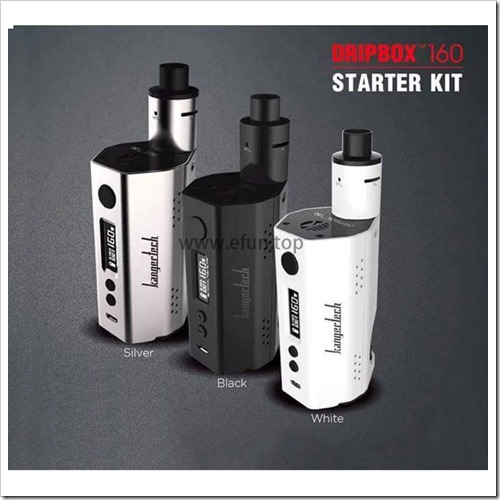 kanger dripbox 160w255B6255D 2 - 【BF対応MOD】KangerからTCと160W対応ハイエンドBFMOD「Kanger Dripbox 160W TC Start Kit」【メタボ基準変わる】