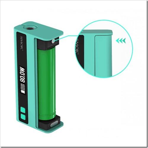 smok quantum 80w tc box mod 1255B7255D 2 - 【海外】SMOKのVTC Miniっぽいワイヤレス対応「Smok Quantum 80W TC Box Mod」3本バッテリー「Smok Koopor Primus 300W TC Box Mod」他