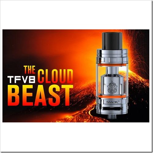 smok tfv8 sub ohm tank255B7255D 2 - 【海外】Smok TFV8 Cloud Beast Sub Ohm Tank、OBS Crius Plus RTA Tank - 5.8ML