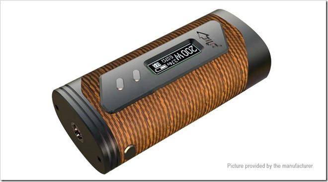 5027601 1255B5255D 2 - 【MOD】YiHi SX330-200チップ搭載ハイエンド「Pioneer4You iPV 6X 200W TC VW APV Box Mod」【18650デュアル】