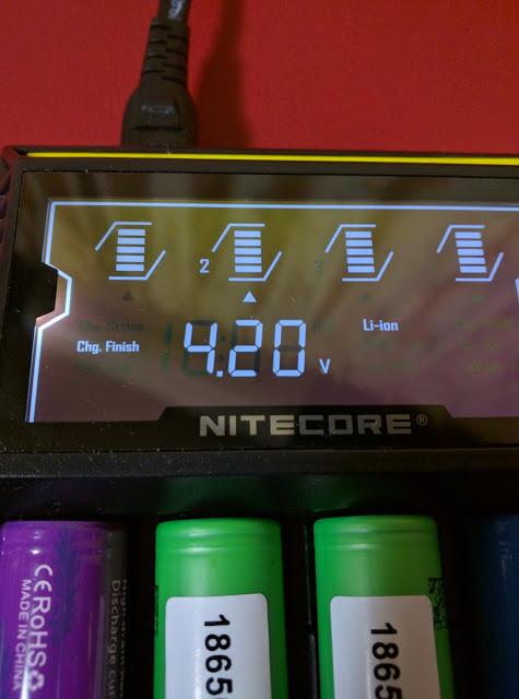 IMG 20160610 195854 2 - 【NITECORE D4 バッテリーチャージャー】 NITECORE D4 ナイトコア 全自動デジタル/マルチ充電器 Digicharger D4 【バッテリー4本充電可能なチャージャー】