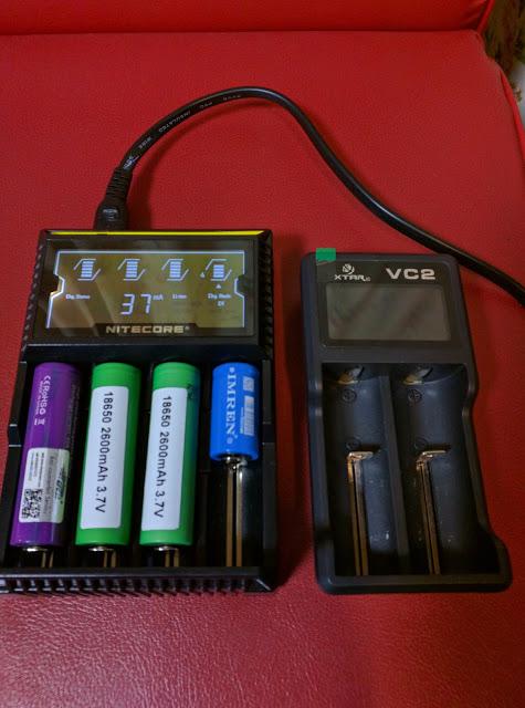 IMG 20160610 200207 2 - 【NITECORE D4 バッテリーチャージャー】 NITECORE D4 ナイトコア 全自動デジタル/マルチ充電器 Digicharger D4 【バッテリー4本充電可能なチャージャー】