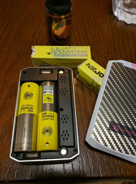 IMG 20160620 212629 2 - 【MXJO バッテリー】 MXJO 18650 3000mah バッテリー 使用してみて+おまけゲーム情報まとめPSVR情報など 【3000mah 35Aのハイドレインタイプ】