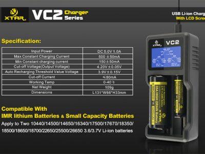 imgrc0063895373 2 400x300 - 【XTAR VC2】バッテリーチャージャー XTAR VC2 2本同時充電タイプ+おまけゲーム情報(CoD、ミラーズエッジカタリスト)まとめなど【バッテリーチャージャー、充電器】