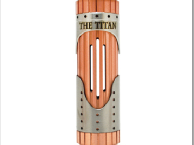 the titan 26650 mechanical mod by vaportech 6b2255B7255D 2 400x300 - 【新製品】メカニカルMOD「The Titan 26650 Mechanical Mod by Vaportech」と「IJOY Limitless RDTA Plus Atomizer」など