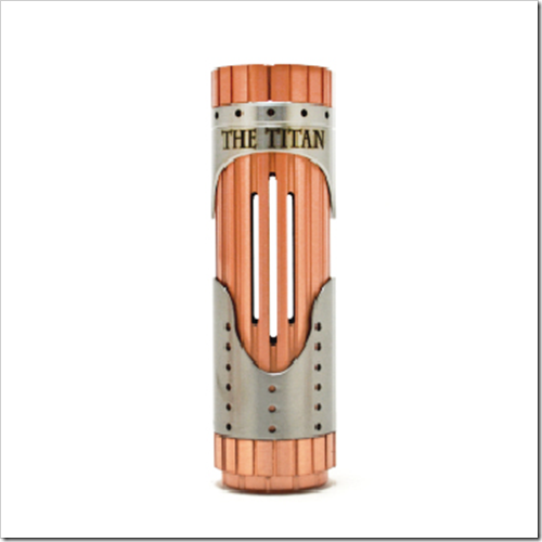 the titan 26650 mechanical mod by vaportech 6b2255B7255D 2 - 【新製品】メカニカルMOD「The Titan 26650 Mechanical Mod by Vaportech」と「IJOY Limitless RDTA Plus Atomizer」など