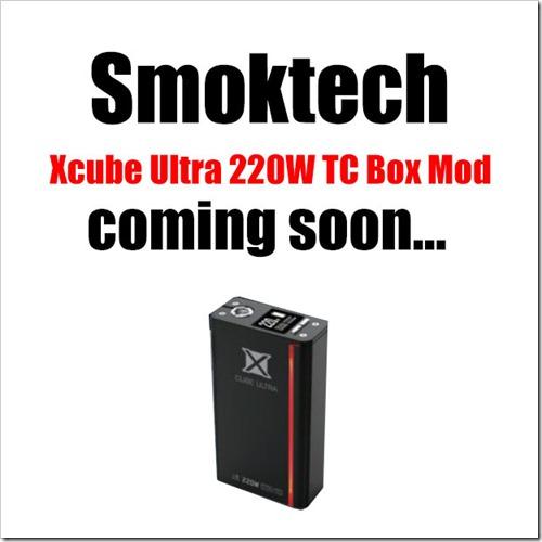 ultra 2 1255B5255D 2 - 【MOD】SMOK Xcube Ultra 220W TCなど複数のSMOK新製品がリーク