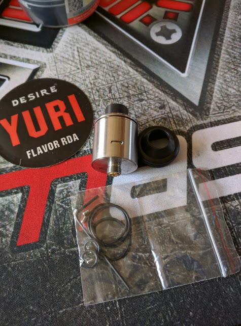 IMG 20160630 095242 2 - 【RDA Yuri】 Yuri RDA by Desire ビルド&レビュー! フレーバー重視RDA 【Flavor RDA ドリッパー】
