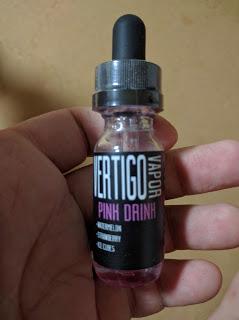 IMG 20160712 231828 2 - 【リキッド】Vertigo Vapor E-Juice - Pink Drink レビュー【ZAMPLEBOX】
